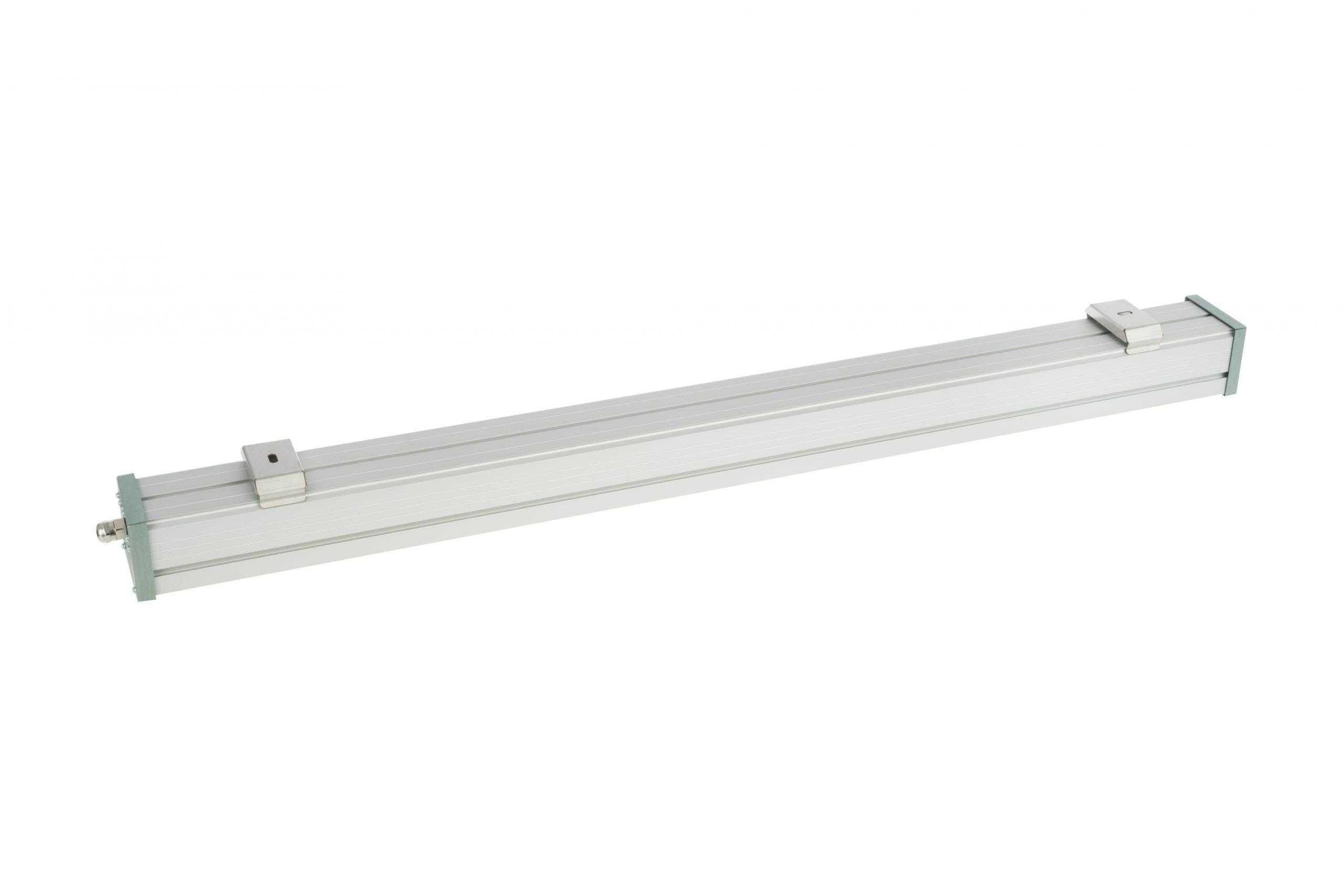 Изображение линейного светодиодного светильника 50 Вт Line Prom 50W с обратной стороны