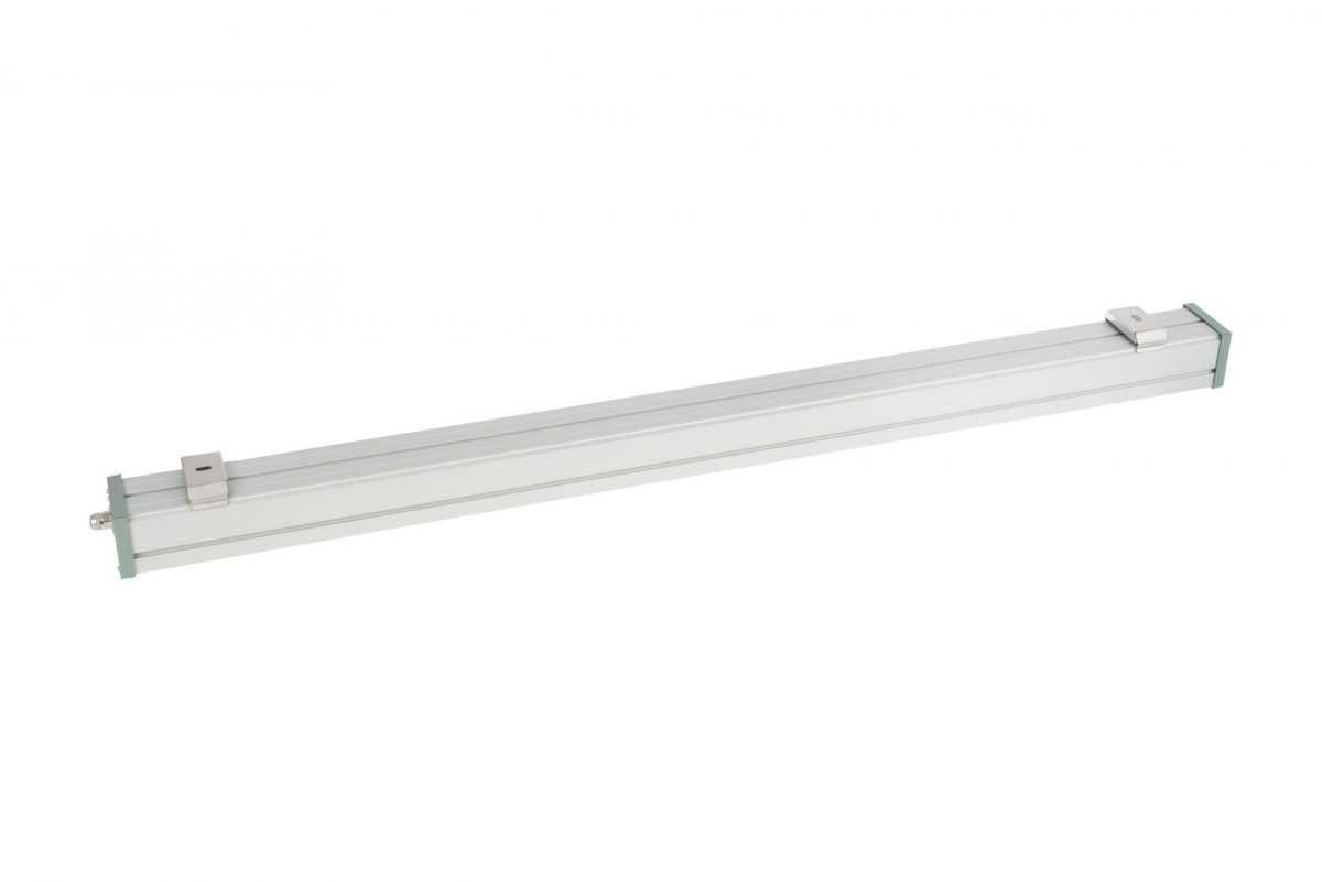 Изображение линейного светодиодного светильника 60 Вт Line Prom 60W с обратной стороны